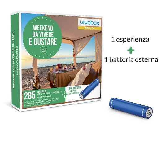 Zoom WEEKEND DA VIVERE E GUSTARE